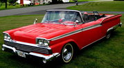 1959 Ford GalaxieFairlane 500 Converible
